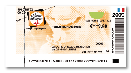 fond chèque dej